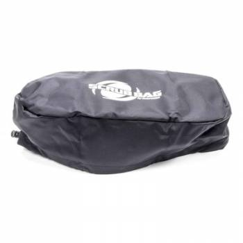 "Outerwears Performance Products - Outerwears 3"" Outerwears Scrub Bag - Oval Scrub Bag - Black"