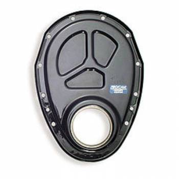 PRO/CAM Racing Engine Components - Pro/Cam SB Chevy Timing Cover - Black