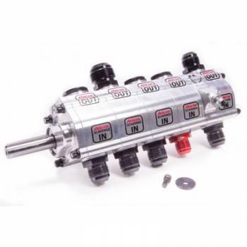 Peterson Fluid Systems - Peterson 5 Stage R4 Drag Dry Sump Oil Pump - Left Side Mount - Standard - 1.400 Scavenge Rotors