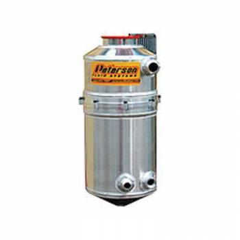 """Peterson Fluid Systems - Peterson 7"""" Drag Race Dry Sump Oil Tank - Single Return w/Catch Can"""
