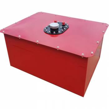 RCI - RCI 12 Gallon Circle Track Cell - Red Steel Can