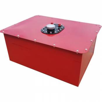 RCI - RCI 16 Gallon Circle Track Fuel Cell - Red Steel Can