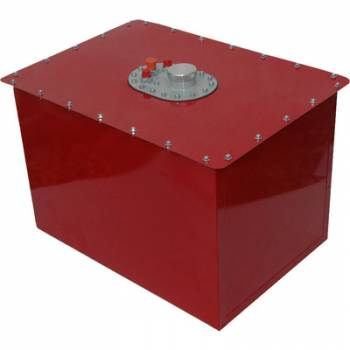 RCI - RCI 32 Gallon Circle Track Fuel Cell -10AN Pickup - Red Steel Can