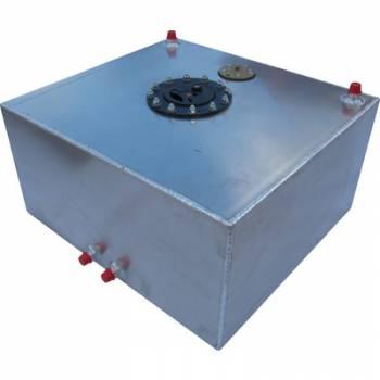 RCI - RCI 15 Gallon Aluminum Fuel Cell - Air Craft Cap - Sending Unit - Bottom Pickups
