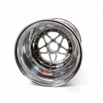 "Sander Engineering - Sander 15"" x 15"" Splined Aluminum Wheel - Inside Beadlock #1 - 6"" Back Spacing"