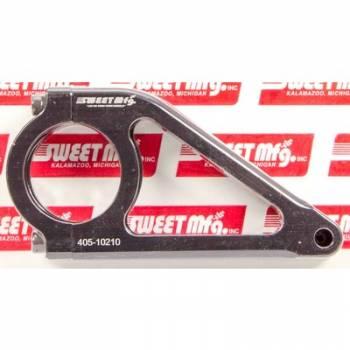 """Sweet Manufacturing - Sweet 4-3/8"""" Black Aluminum Dash Bracket - (Pair)"""