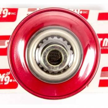 Sweet Manufacturing - Sweet Steering Wheel Quick Release Hub - For Sweet Adjustable Steering Column - Aluminum (Red)