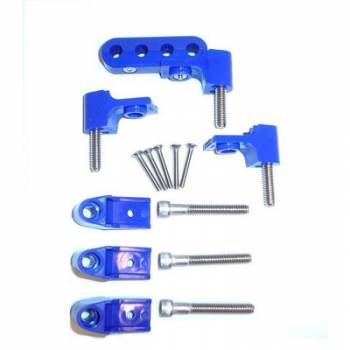 Taylor Cable Products - Taylor Spark Plug Wire Separator Bracket - Horizontal, Blue (SB Chevy, Chrysler)