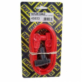 Taylor Cable Products - Taylor 8mm Spiro Pro Spark Plug Wire Repair Kit - Includes 90 Degree/180 Degree Plug Boots(Orange)