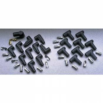 Taylor Cable Products - Taylor Distributor and Coil Boot / Terminal Kit - Spark Plug Wire Set - 90 Degree