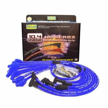 Taylor Cable Products - Taylor 409 Pro Race Ignition Wire Set - Race Fit(Blue)