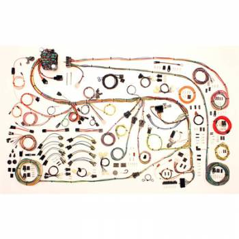 American Autowire - American Autowire 1967-75 Mopar A-Body Wiring Kit