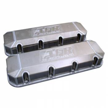 Airflow Research (AFR) - AFR BB Chevy Fab. Aluminum Valve Cover Set w/AFR 18 Degree Heads