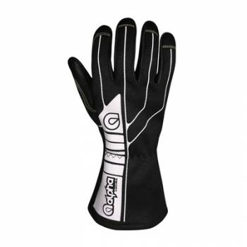 Alpha Gloves - Driver X Racing Glove - Black - Medium