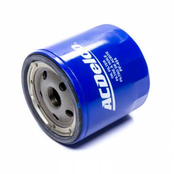 AC Delco - AC Delco Oil Filter - Canister - Screw-On - 13/16-16 in Thread - Steel - Blue - GM -