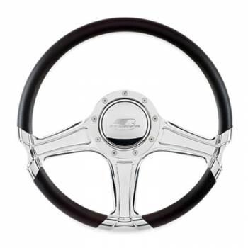 """Billet Specialties - Billet Specialties 14"""" Octane Steering Wheel Half Wrap"""