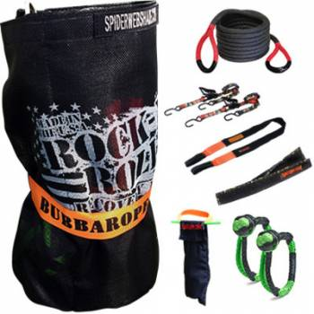 Bubba Rope - Bubba Rope Rock-N-Roll Recovery Kit w/Bubba Rope 30 Ft.