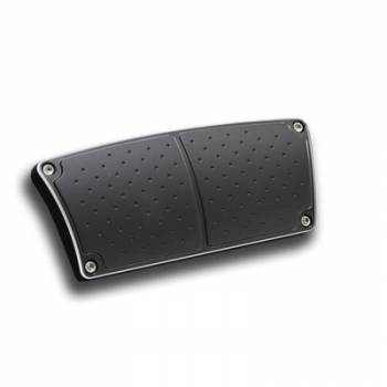 Clayton Machine Works - Clayton Machine Works Billet Brake Pedal Cover Black