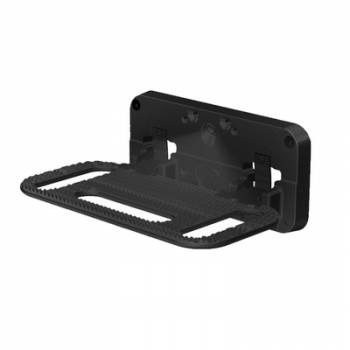 Carr - Carr HD Mega Step Flat Mount Black Powder Coat