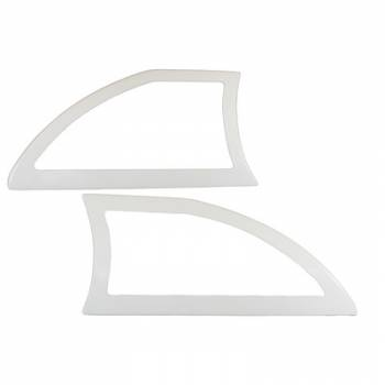 Dominator Racing Products - Dominator Aluminum Sails White Pair Open Style
