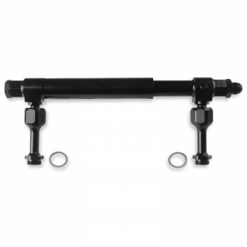 Earl's Performance Products - Earl's #-08 AN Adjustable Fuel Log - Billet Aluminum Black