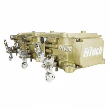 Fitech Fuel Injection - FiTech Go EFI 3x2 Tri Power EFI System Classic Gold