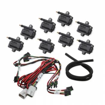 Holley Performance Products - Holley Coil-Near-Plug Smart Coil Kit - V8 Big Wire
