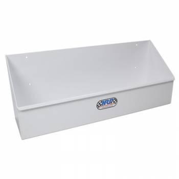 Hepfner Racing Products - Hepfner Racing Products Gear Shelf Single Row Holds 10 Cases White