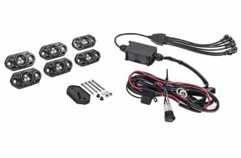 KC HiLiTES - KC HiLiTES CRL 6 PC RGB Rock Light Kit