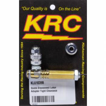 Kluhsman Racing Components - Kluhsman Racing Components Quick Disconnect Lokar Adapter Tight Clearance