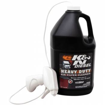 K&N Filters - K&N Heavy Duty Filter Cleaner For DryFlow 1 Gallon