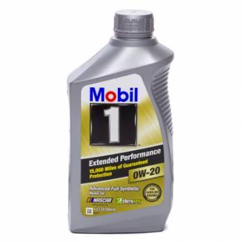 Mobil 1 - Mobil 1 0w20 EP Oil 1 Quart Bottle