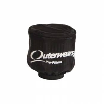 "Outerwears Performance Products - Outerwears Pre-Filter Water Repel Black 3.5"" Diameter x 6"" Ta"