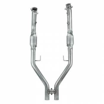 Pypes Performance Exhaust - Pypes 05-10 Mustang H-Pipe with Catalytic Converters