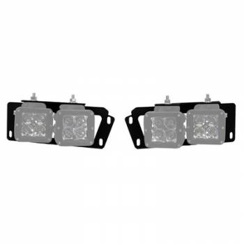 Rigid Industries - Rigid Industries 10-15 Dodge Ram 2500 Fog Light Brackets D-Series