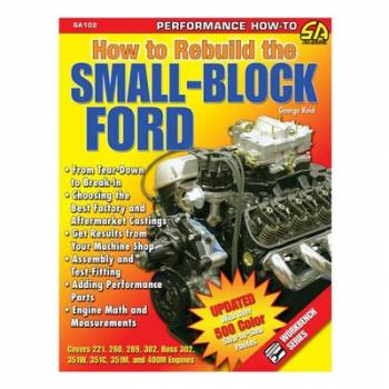 S-A Books - How To Rebuild The Small Block Ford