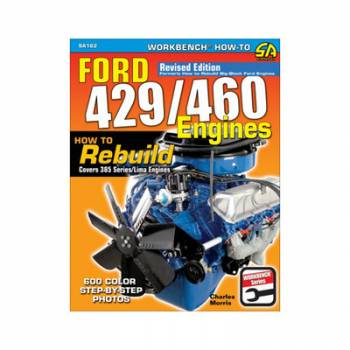 S-A Books - Ford 429/460 Engines How To Rebuild