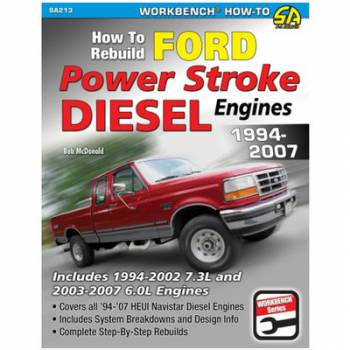 S-A Books - How to Rebuild Ford Diesel Engines 1994-2007