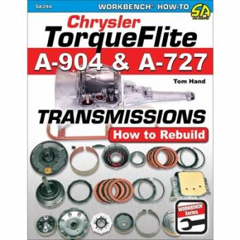 S-A Books - Chrysler Torqueflite A90 4 and A727 Transmissions