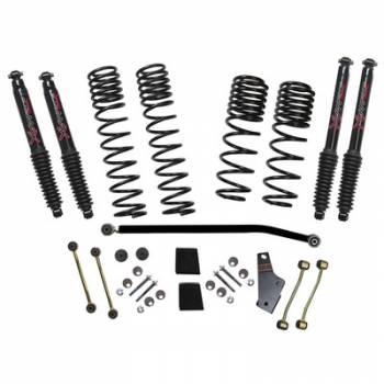 "Skyjacker - Skyjacker 18- Jeep JL 3.5-4"" Suspension Kit Black Max"