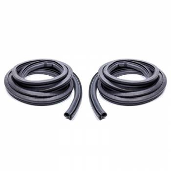 SoffSeal International - SoffSeal Door Weatherstrip with Clips and Molded Ends