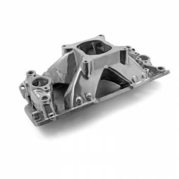 Speedmaster - Speedmaster SB Chevy Shootout Intake Manifold - Polished