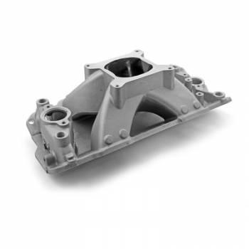 Speedmaster - Speedmaster SB Chevy Shootout Intake Manifold - Satin
