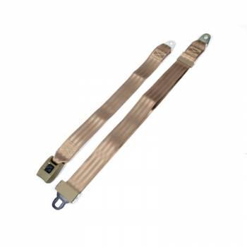 Safe-T-Boy Products - Safe-T-Boy 2 Point Lap Belt Tan