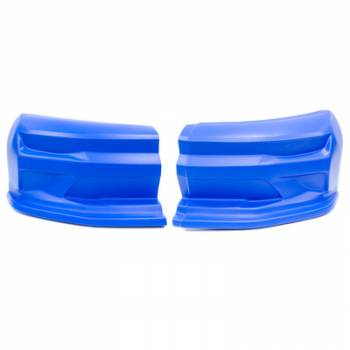 Dominator Racing Products - Dominator 2019 Camaro Street Stock Nose - 2 Piece Complete - Blue