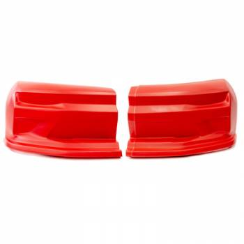 Dominator Racing Products - Dominator 2019 Camaro Street Stock Nose - 2 Piece Complete - Red