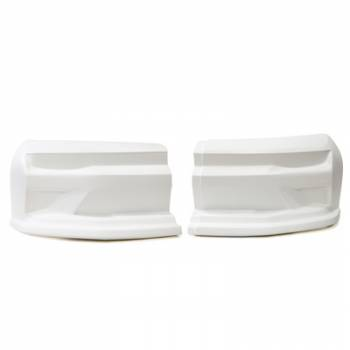 Dominator Racing Products - Dominator 2019 Camaro Street Stock Nose - 2 Piece Complete - White
