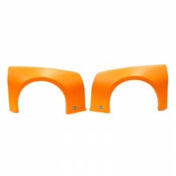 Dominator Racing Products - Dominator Camaro Street Stock Fender Kit - Molded Plastic - Orange - Left and Right