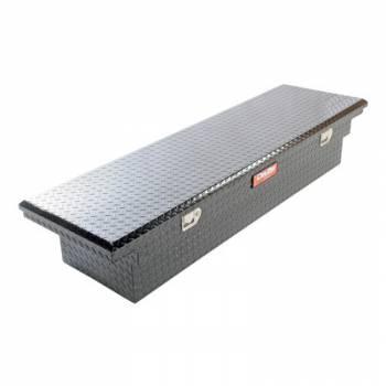 """Dee Zee - Dee Zee Red Label Truck Box - Single Lid - 69.75"""" Long - 20"""" Wide - Aluminum - Diamond Plate"""