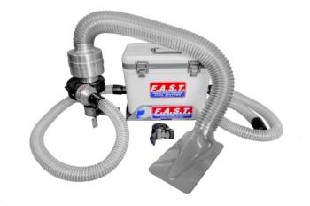 FAST Cooling - FAST Cooling Fresh Air Helmet Cooling System - Asphalt
